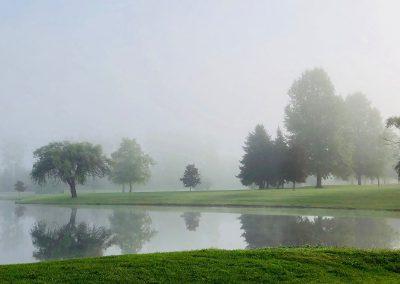 Misty Morning at Oakland Park